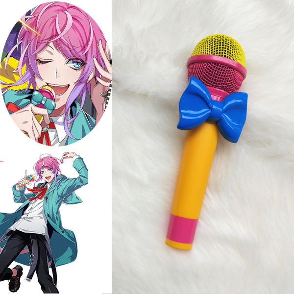 Division Rap Battle Hypnosis Mic DRB Amemura Ramuda Cosplay Microphone Anime Cosplay Costume Accessories Props
