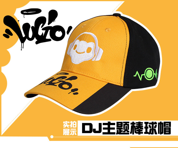 Overwatch OW D.VA/Mercy/Reaper/Genji/Lucio all Heros Baseball Hat Cosplay Cap