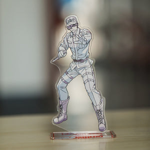 Cells At Work Keyring White Blood Cell Killer T Cell Platelet Acrylic Transparent Decoration 3D Artware Charm