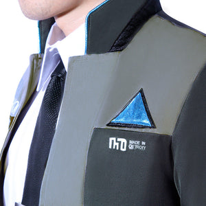 Game Detroit: Become Human Connor RK800 LED Kara Upgrade Agent Suit Uniform Cosplay Costume