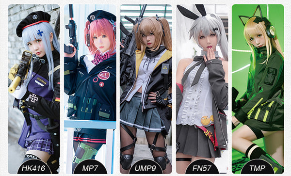 Girls' Frontline hk416 Cosplay Costume