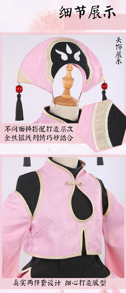 Card Captor Sakura:clear card sakura cosplay costume sakura dobok cosplay dress with cap/hat