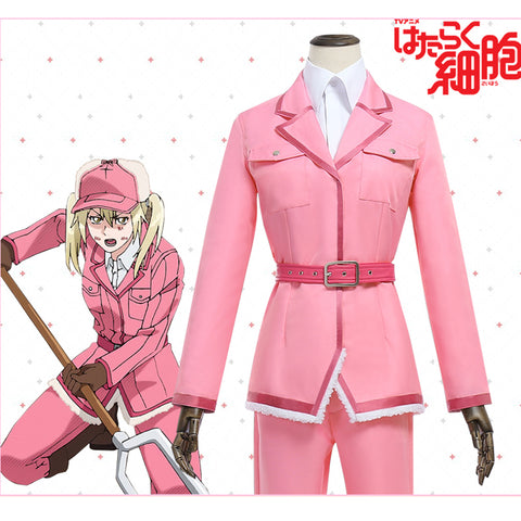 Cells at Work Eosinophil kousankyu Cosplay Costume Hataraku Saibou Custom Made