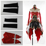 Load image into Gallery viewer, Custom Made DOTA 2 Lina Inverse the Slayer Dress Cosplay Costume