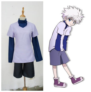 Hunter x Hunter Cosplay Killua Zoldyck Costume Custom Made