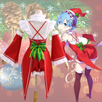 Load image into Gallery viewer, Re:Life in a Different World Re:0 Ram Christmas Cosplay Outfit Maid Dress Cosplay Costume