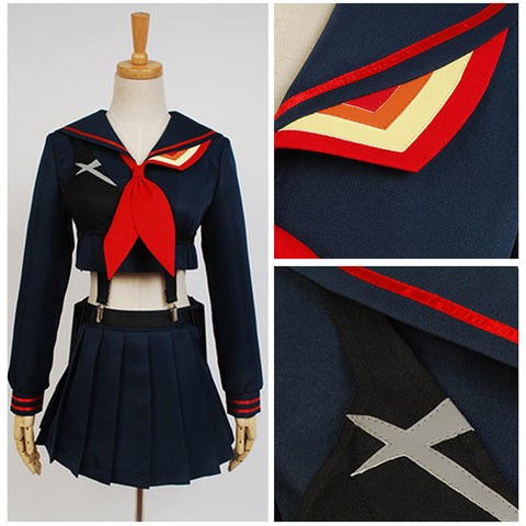 KILL la KILL Ryuko Matoi cosplay costume uniform dress