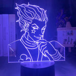 Load image into Gallery viewer, Kids Night Light Gift Led Touch Sensor Colorful Bedroom Nightlight Anime Hunter X Hunter Decor Light Cool 3d Lamp Hisoka Gadgets
