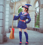 Load image into Gallery viewer, Little Witch Academia Akko Kagari Dress Uniform Outfit Anime Cosplay Costumes