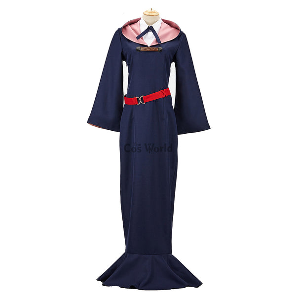 Little Witch Academia Lotte Yanson Dress Uniform Outfit Anime Cosplay Costumes