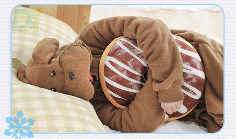 Makkachin Pajama Sleep Wear Kigurumi Yuri on Ice cosplay Costume