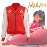 Load image into Gallery viewer, Mulan Jacket Wreck It Ralph Ralph Breaks the Internet Mushu Bomber Jacket Coat Cosplay Costume