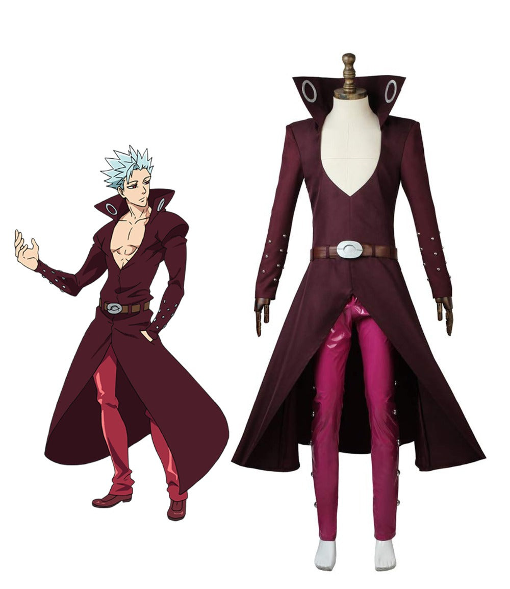Seven deadly sins Revival Of The Commandments Ban Cosplay Fox's Sin of Greed Costume