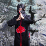 Load image into Gallery viewer, Naruto Akatsuki /Uchiha Itachi Cosplay Halloween Christmas Party Costume Cloak Cape