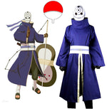 Load image into Gallery viewer, Naruto Shippuden Uchiha Obito Cosplay Costume with Mask Custom Made