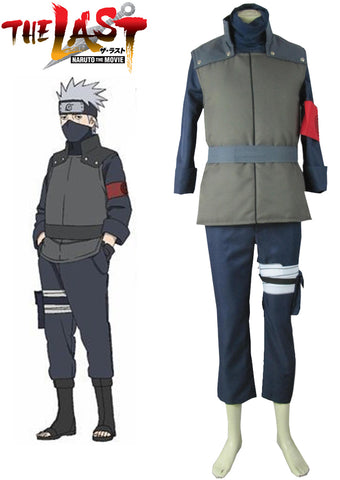 Naruto The movie The last-Hatake Kakashi Sixth Hokage Cosplay Costume Tailor Made