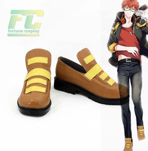 Mystic Messenger 707 Cosplay Shoes Custom Made