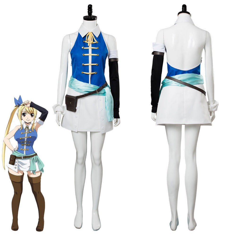 Manga Version Fairy Tail Lucy Cosplay Costume Fancy Dress