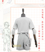 Load image into Gallery viewer, Hataraku Saibou Cells At Work Neutrophil Child White Blood Cell Halloween Cosplay Costume