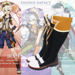 Load image into Gallery viewer, Genshin Impact Bennett Cosplay Shoes Boots Halloween Carnival Cosplay Costume Accessories