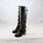 Load image into Gallery viewer, Overwatch OW New Hero Ashe Black Shoes Cosplay Boots