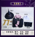 Load image into Gallery viewer, The Journey of Elaina Cosplay Costume Majo no Tabitabi Outfit Purple Halloween Party