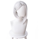 Load image into Gallery viewer, OW Ashe Overwatch Cosplay Wig Sliver White