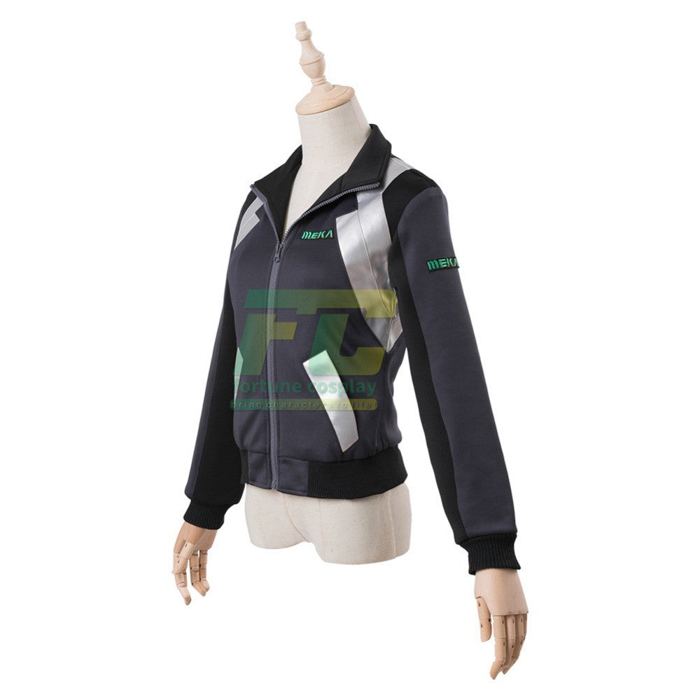 OW D.Va DVA Hana Song Cosplay Costume Shooting Star Jacket Sweatshirt Cosplay Costume
