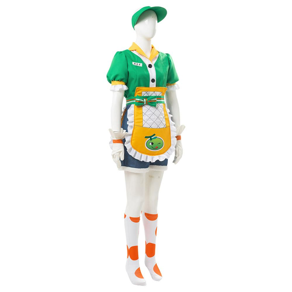OW Overwatch Mei Cosplay Costume Honeydew Skin Outfit