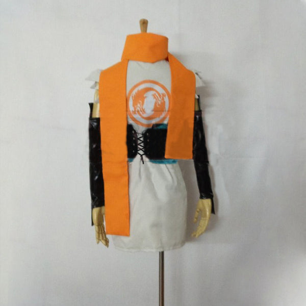 Overwatch OW Young Genji Female Cosplay Costume  Custom Made