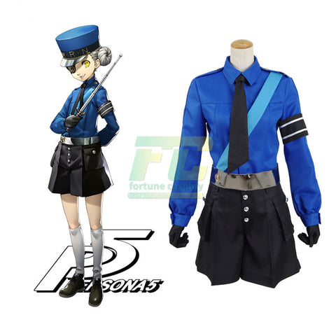 Free Shipping Caroline Persona 5 cosplay costume outfit