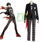 Load image into Gallery viewer, Persona 5 Dancing Star Night Joker Protagonist Akira Kurusu Cosplay Costume Outfit