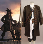 Load image into Gallery viewer, Pirates Of The Caribbean Cosplay Costume Captain Jack Sparrow Cosplay Costume