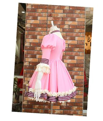 Card captor Sakura 20th Anniversary Pink Lolita Dress Cosplay Costume