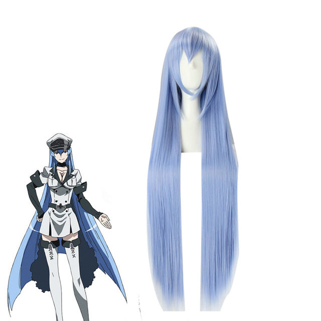 Akame ga KILL Anime Cosplay Headwear Esdeath Cosplay Wig