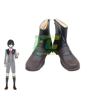 DARLING in the FRANXX Cosplay Shoes Hiro Cosplay Boots Goro Men Shoes ZOROME 016 DFXX
