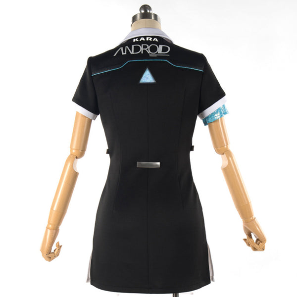 Detroit: Become Human KARA Code AX400 Cosplay Costume Dress