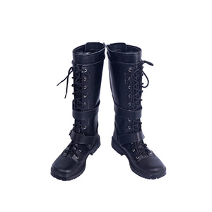 Kingdom Hearts 3 Bring Arts Riku Cosplay Boots Shoes Custom Made