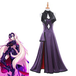 Load image into Gallery viewer, Fate/Grand Order Jalter Cosplay Costume Jeanne d'Arc Avenger and Ruler Purple Dress