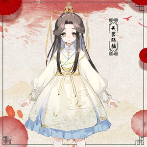 Heaven's Official Blessing Lolita Dress Hua Cheng Xie Lian Cosplay Costume Sex Transfer Outfit