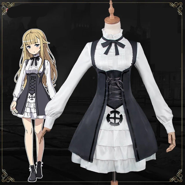 Ange Cosplay Princess Principal School Uniform