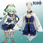 Load image into Gallery viewer, Game Genshin Impact Sucrose Cosplay Costume