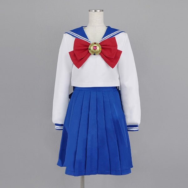 Sailor Moon Cosplay Navy Sailor School Uniform Performance Costumes