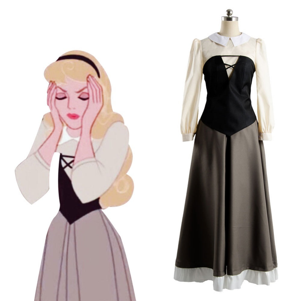 Sleeping Beauty Costume Adult Women Cosplay Princess Dress Costume