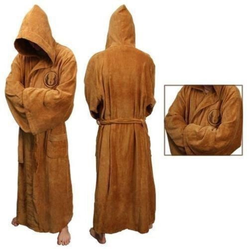 Star Wars Jedi Bathrobe Robes Darth Vader Pajama Halloween Cosplay Costume Coral Flannel Terry