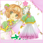 Load image into Gallery viewer, Cardcaptor Sakura Chinese Peach blossom Lolita Cosplay Costume - fortunecosplay