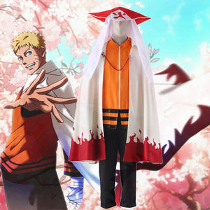 Naruto THE LAST Seventh Hokage Uzumaki Naruto Cosplay Costume - fortunecosplay