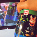 Load image into Gallery viewer, OW Shooting Star D.VA Cup Stainless Steel Water Bottle Insulated Cup Prop