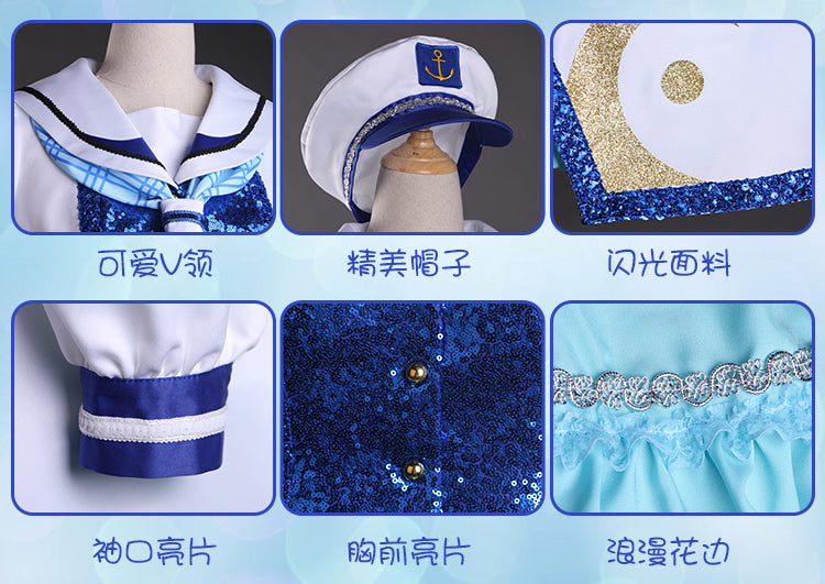 Aqours!lovelive sunshine OP 2 All Members Cosplay Costume - fortunecosplay