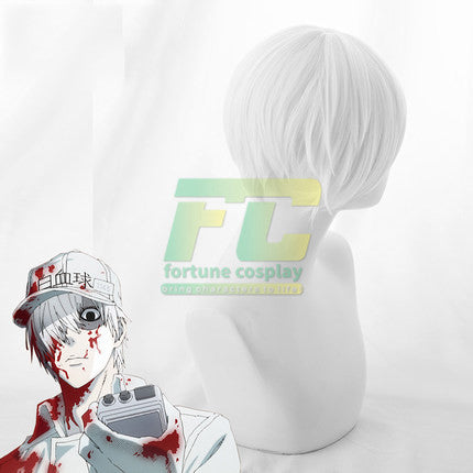 Neutrophil  Kochukyu Cells at Work Hataraku Saibou Cosplay Wig